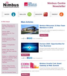 Nimbus Centre Newsletter