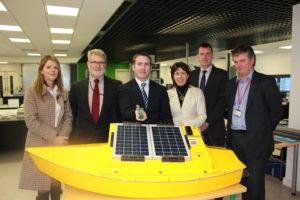Minister Mr Damien English visits the Nimbus Centre