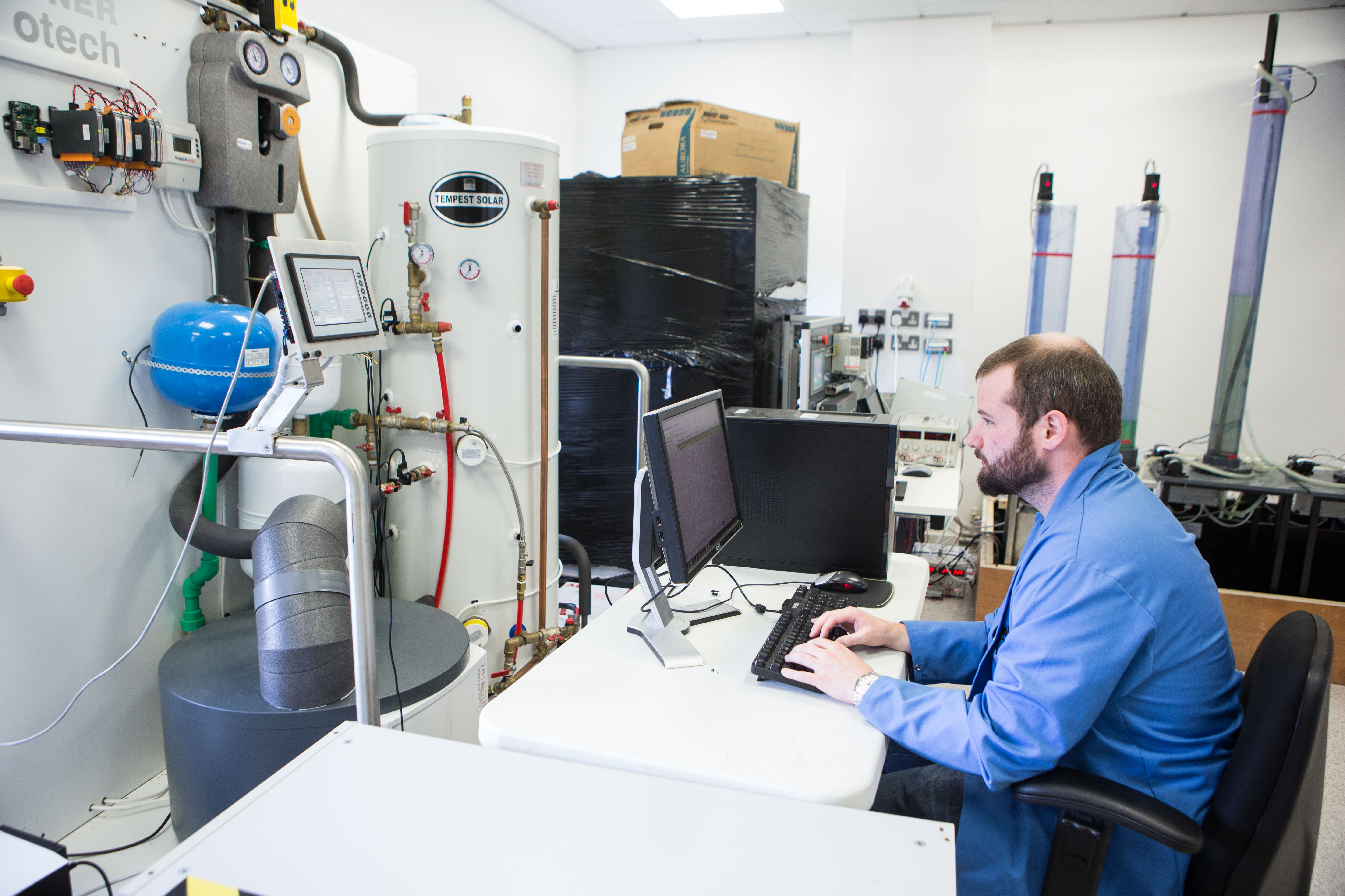 Nimbus Centre researcher working in lab