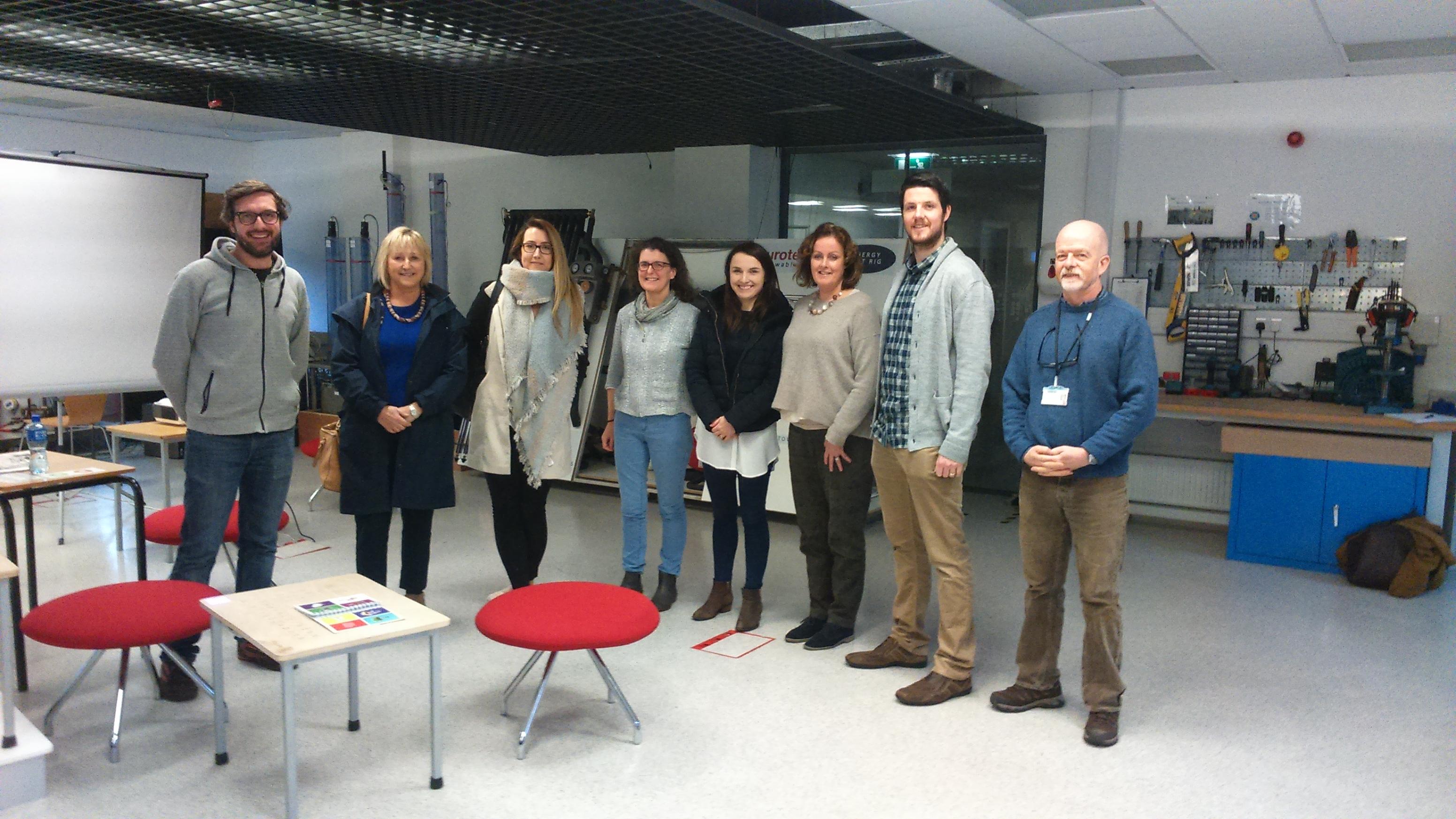 HSE occupational therapists visit Nimbus Centre