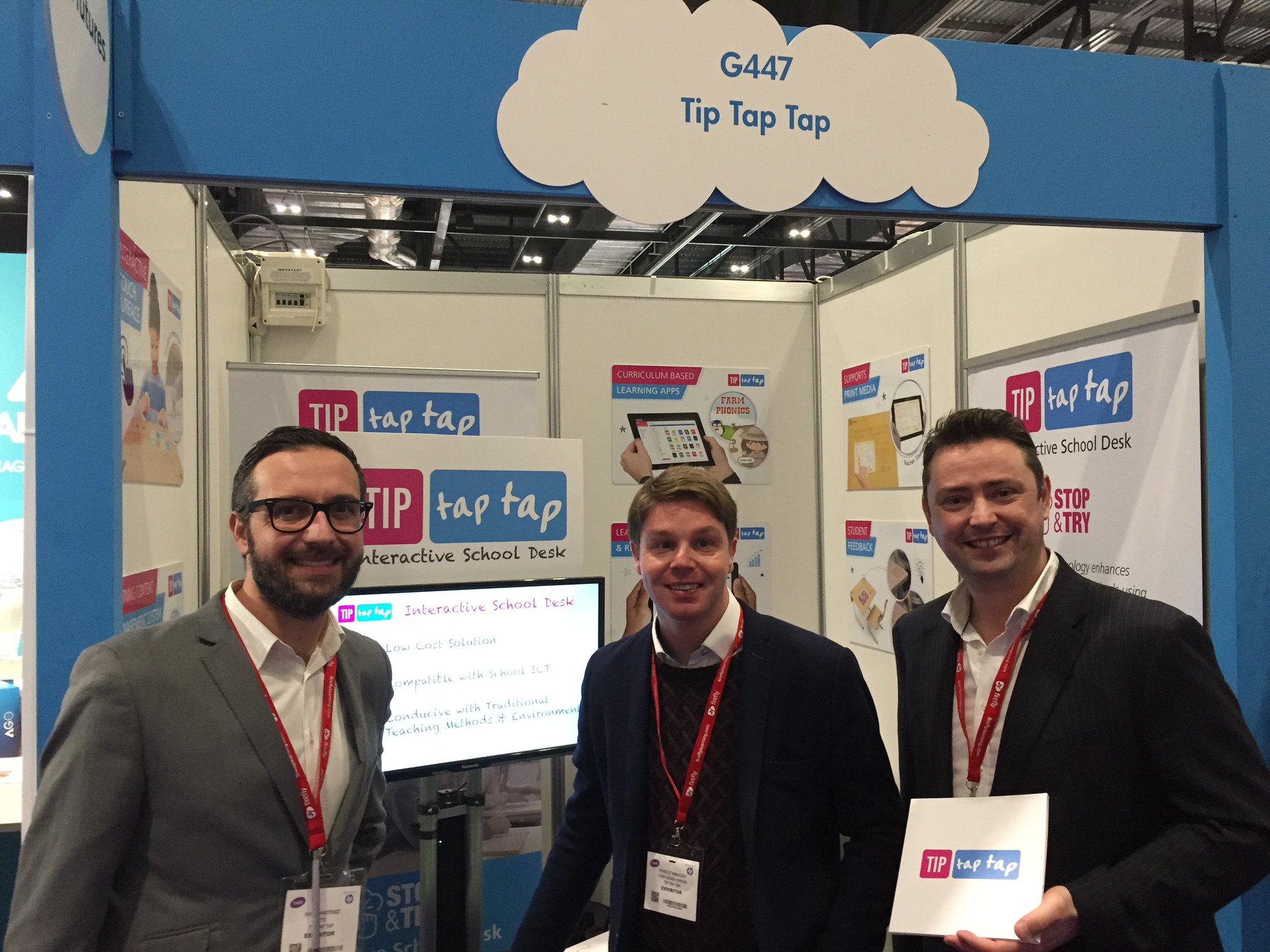 TIP Tap Tap at Bett Show London