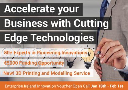 Innovation Voucher call now open!