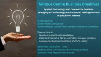 Nimbus Centre Business Breakfast Poster