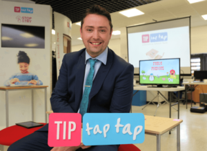 TIP Tap Tap is turning school desks into interactive IOT workstations