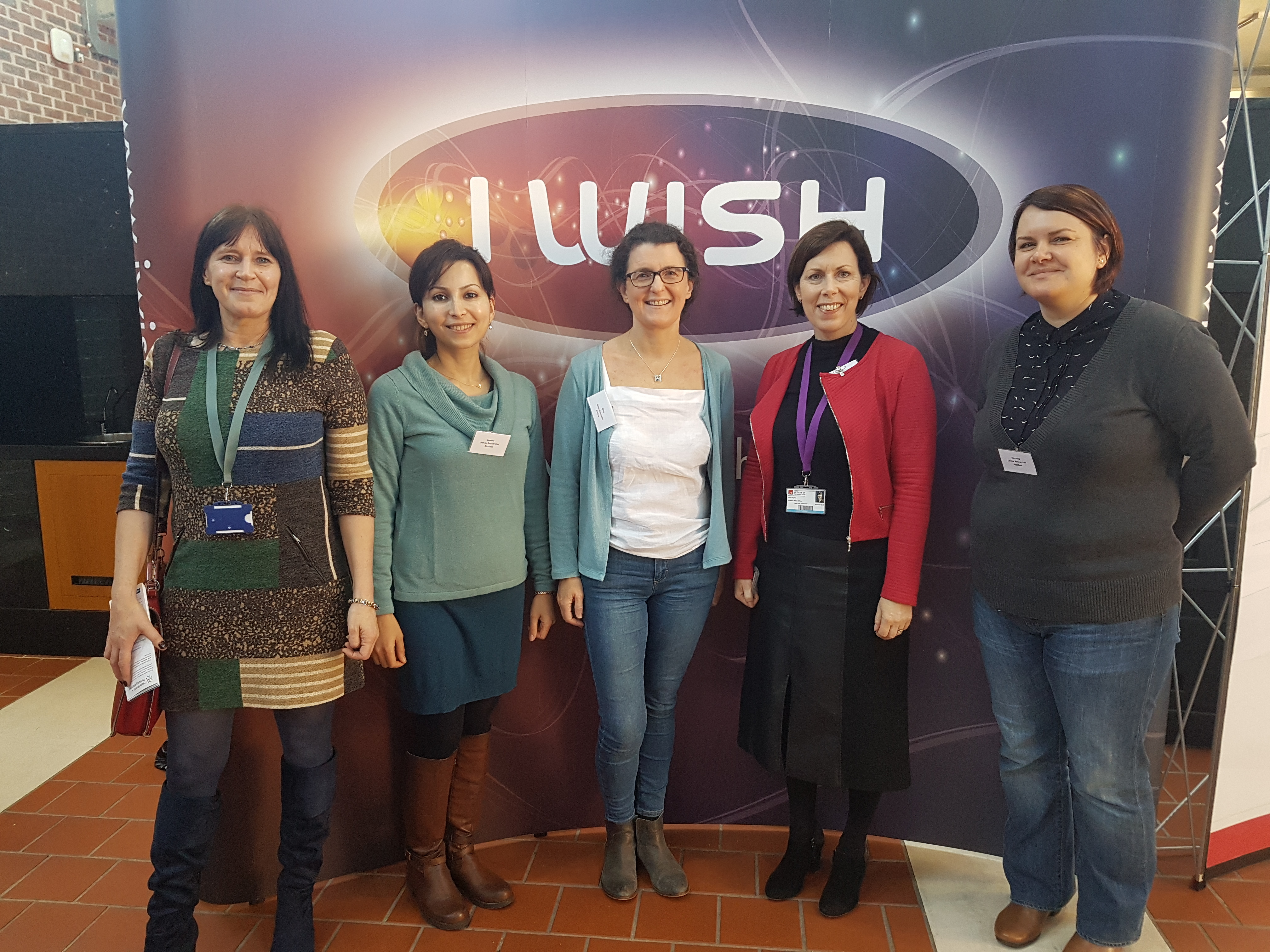 Promoting STEM to female students with I WISH Campus Week