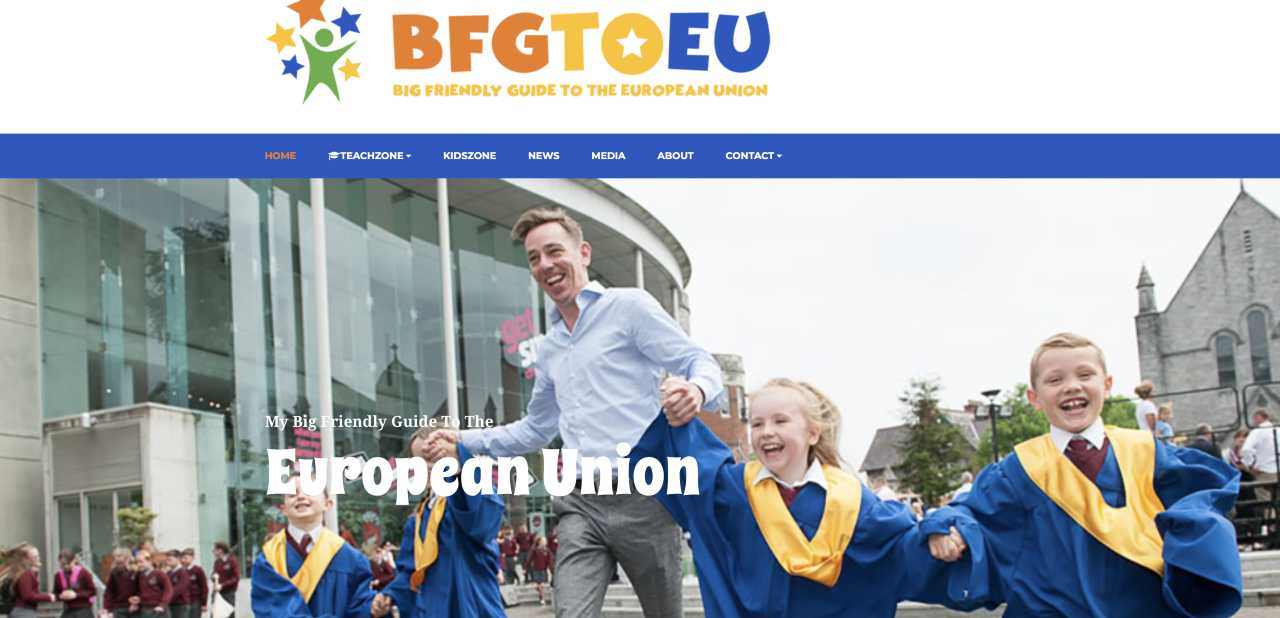 BFGtoEU website launch and discovery